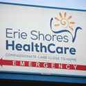 Sign of Erie Shores HealthCare